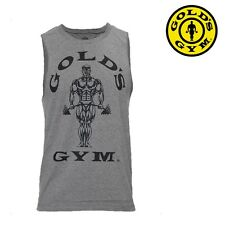 Golds Gym Tank Top Muscle Joe Sleeveless Stringer - Bodybuilding Fitness Sports