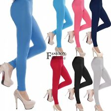 Fashion Women Slim Stretch Skinny High Waist Trousers Leggings Pencil Pants FNHB