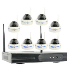 Wireless Home Security Camera System with Hard Drive