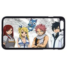 Anime Fairy Tail Lucy Gray Cat For Apple iPhone iPod & Samsung Galaxy Case Cover