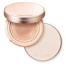 Etude House Real Powder Cushion Foundation For Oily Skin Light Nature Honey Beig