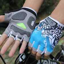 New Professional Cycling Bike Bicycle Shockproof Sports Half Finger Glove M-XL