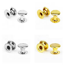 6-8mm Double Cap Rivets Stud Fastener No Sew No Glue Leather Craft 100 Pack