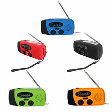 Rechargeable Weather Solar Emergency Radio with Hand Crank and Solar Power IB