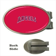 La Angels Of Anaheim Chrome Money Clip - MLB Baseball