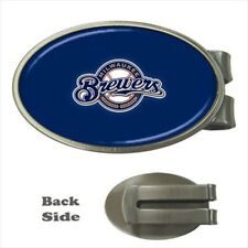 Milwaukee Brewers Chrome Money Clip - MLB Baseball