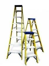 Electricians Fibre Glass step ladder 4, 6 or 8 Tread