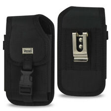 Black Vertical Phone Holster Pouch with Belt Clip For Apple iPhone 7 6 6S PLUS