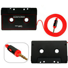 Car Auto Cassette Adapter Tape Audio Music Converter for iPhone Samsung iPod MP3