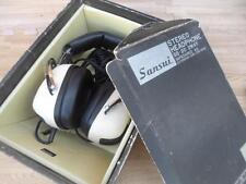 VINTAGE SANSUI SS-20 HEADPHONES 2-WAY SPEAKER SET