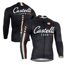 New Fashion Men's Bicycle Long Sleeve Shirts Racing Bike Wear Top Cycling Jersey