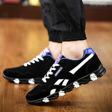 New Fashion Mens Breathe Sneakers Casual Lace Up Shoes Board Shoes Running Shoes