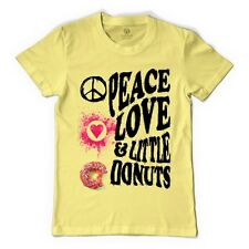 Peace, Love And Little Donuts Men's T-shirt By Customon