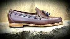 G. H. Bass & Co // Weejuns // Larkin Pull Up Loafers Brown Mens Shoes // NEW!!!