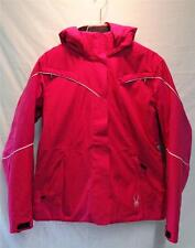 Spyder Womens Charge Insulated Snow Ski Winter Jacket Hot Pink White NEW