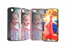 apple iphone 4 4s iphone 5 5s 5c  case custom personalised any photo image +text