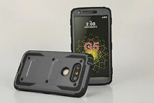 New Shockproof Hybrid Heavy Duty Rugged Hard Armor Iampact Case Cover for LG G5