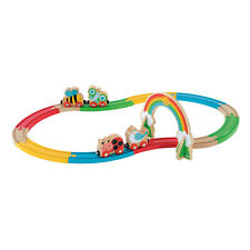 Early Learning Centre Wooden Train Set