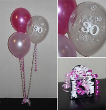 30th  Birthday Balloons - DIY Party Decoration Kit  Clusters For  5  - 15 Tables