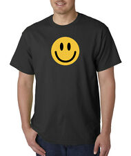 Smiley Happy Face Funny Yellow Smile Cute T-Shirt S-5XL