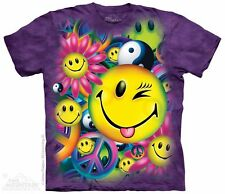 Peace & Happiness Mountain T-Shirt -Adult S - 5X & Child S - XL