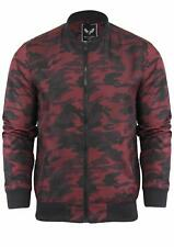 Brave Soul Mens 'Regal' Camouflage Camo Harrington Bomber Jacket Coat Size S-XL