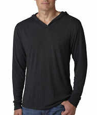 6021 Next Level Men's Tri-Blend Long-Sleeve Hoodie All Colors
