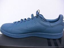 Raf simons x Adidas Stan smith blue leather sneakers size 8-10.5