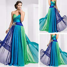 Long Sexy Bridesmaid Formal Gown Ball Cocktail Evening Prom Ladies Party Dress
