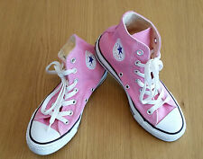 Chuck Taylor Converse All Star M9006 Pink hi top Trainers, UK Size 4