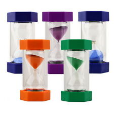 Sand Timer Hourglass Sandglass Egg Timers 10/15/20/30/60 Minutes Cooking SY