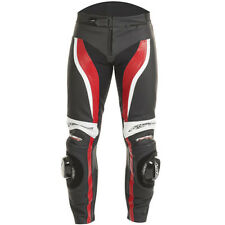 RST Tractech Evo 2 Leather Sports Motorcycle Jeans - Red