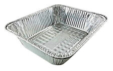 Handi-Foil Half-Size (1/2) TruFit™ Extra-Deep Aluminum Foil Steam Table Pan