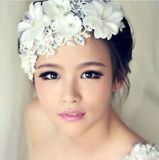BRIDAL /  OCCASION Lace Hair Accessories Head Jewelry Flowers Hat Decoration