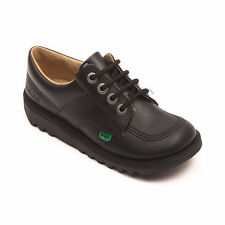 Kickers Kick Lo Core Black Youth Unisex -  Boys Girl School Shoes