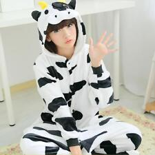 Cow  Hot Unisex Adult Kigurumi Pajamas Anime Cosplay Costume Onesie Sleepwear