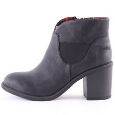 Blowfish Montley Womens Synthetic Black Ankle Boots New Shoes All Sizes