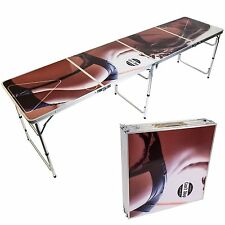Portable Beer Pong Table Tailgating Foldable Party Game Adult Drinking Games NEW