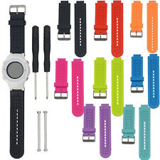 Silicone Watch Band Strap Kit For Garmin Vivoactive/Approach S2/Approach S4 GPS