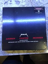 Metallica The Black Album 4 LP 180G Box Set Sealed
