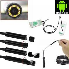 6LED Android Endoscope Waterproof Inspection Camera Micro USB Video Camera TOP