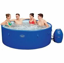 Garden Jacuzzi Hot Tub Bestway Lay-Z-Spa 8 Person Rigid Inflatable 10min Setup!
