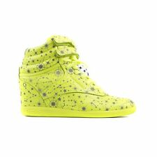 REEBOK X MELODY EHSANI FREESTYLE HI INT WEDGE (SOLAR YELLOW) M47470 WOMENS SHOES