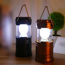 New Outdoor Camping Solar Power Portable Lantern Rechargeable Emergency Light