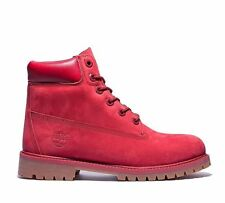 Timberland A13HV -  6 Inch Premium Girls - Womens  Red Waterproof Boots