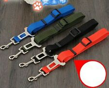 Durable Cat Dog Pet Safety Seat Belt Car Vehicle Adjustable Harness Straps New