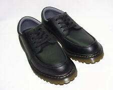 Dr. Martens Nashly Air Cushion Sole Oxfords, Tumbled Leather Upper, Black, New