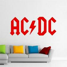 ACDC -  Wall Decal Art Sticker lounge living room bedroom