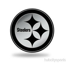 Pittsburgh Steelers Logo 3D Chrome Auto Decal Sticker NEW Truck Car Rico