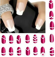 Nail Art Sticker French Tip Manicure Guides Stickers Collection